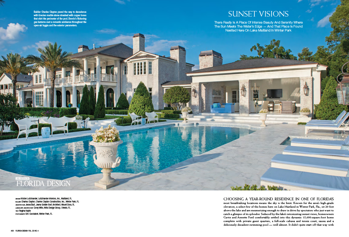 Winter park remodel featured in florida design magazine Architect florida